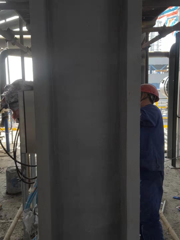 钢结构防火涂料施工完成养护中.jpg